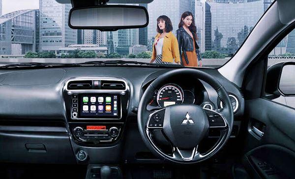 2021 Mitsubishi Mirage Features