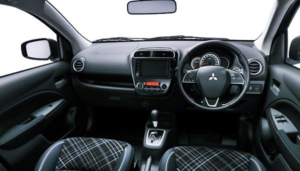 2021 Mitsubishi Mirage Interior