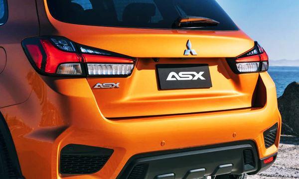 2022 Mitsubishi ASX exterior Design