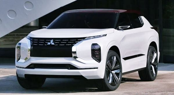 Mitsubishi Outlander 2022 New Design