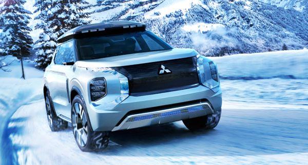 New 2022 Mitsubishi Outlander Concept