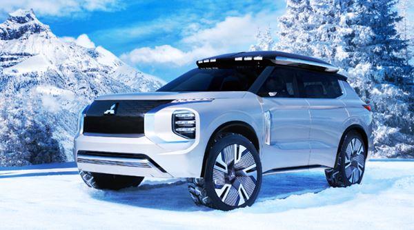 New 2022 Mitsubishi Outlander Exterior Design