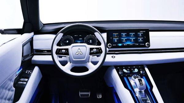 New 2022 Mitsubishi Outlander Interior Design