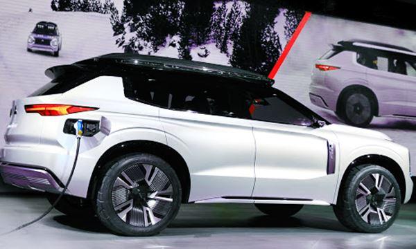 New 2021 Mitsubishi Outlander Design