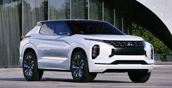2021 Mitsubishi Outlander Exterior Redesign