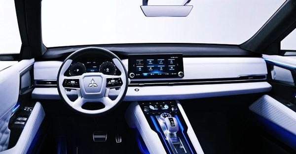 2021 Mitsubishi Outlander Interior Redesign