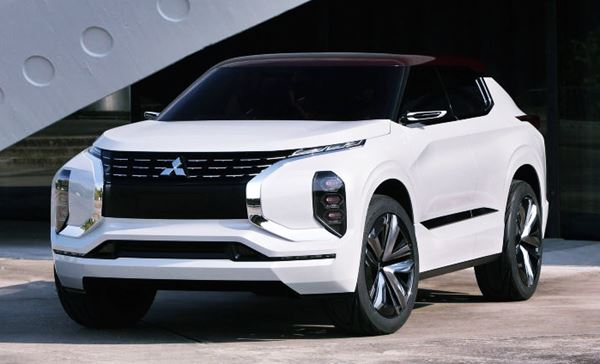 2021 Mitsubishi Outlander New Design