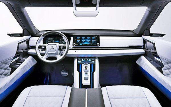 2021 Mitsubishi Outlander Phev Interior Redesign