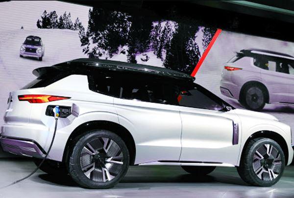 Exterior Mitsubishi Outlander