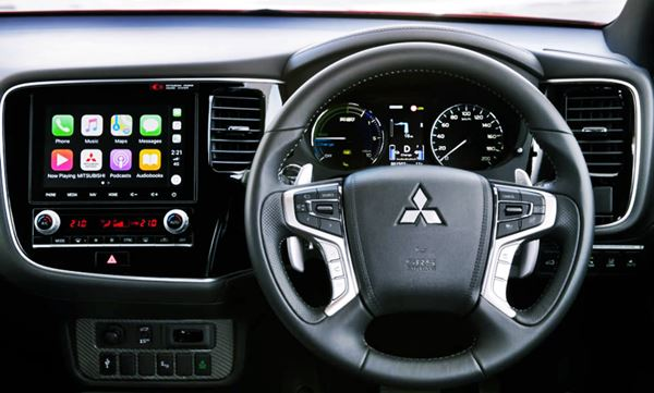 Mitsubishi 2021 Outlander Interior