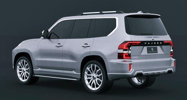 New Mitsubishi Montero 2022 Redesign