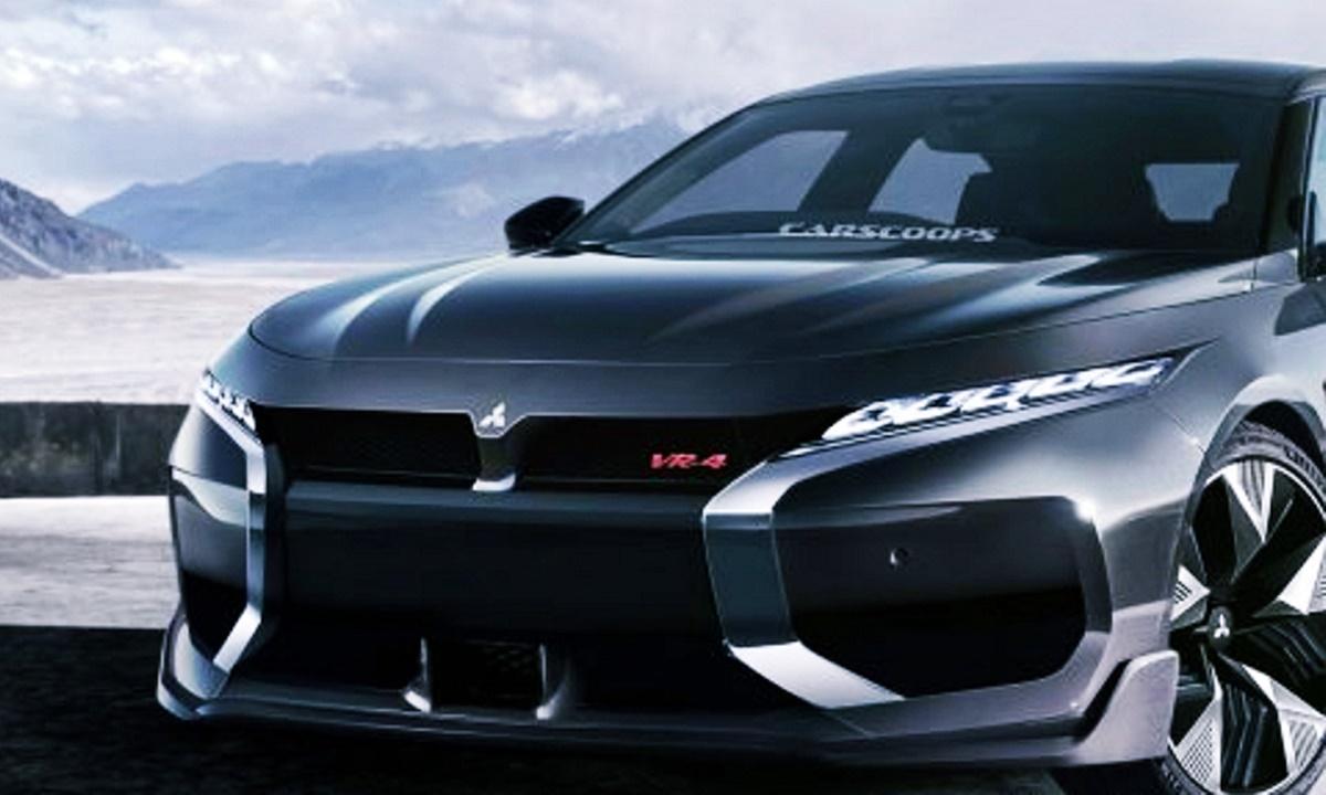 Mitsubishi Galant VR4 2023 Design